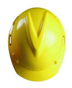 каска v-gard строительная желтая