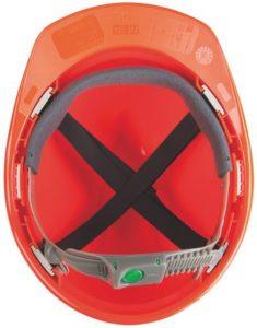 Оголовье Push-Key для защитных касок